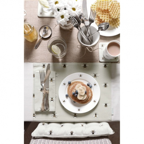 Sophie Allport Bees Fabric Placemats