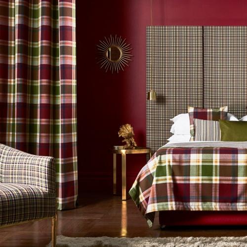 Prestigious Belmont Cranberry FR Fabric 2016/316