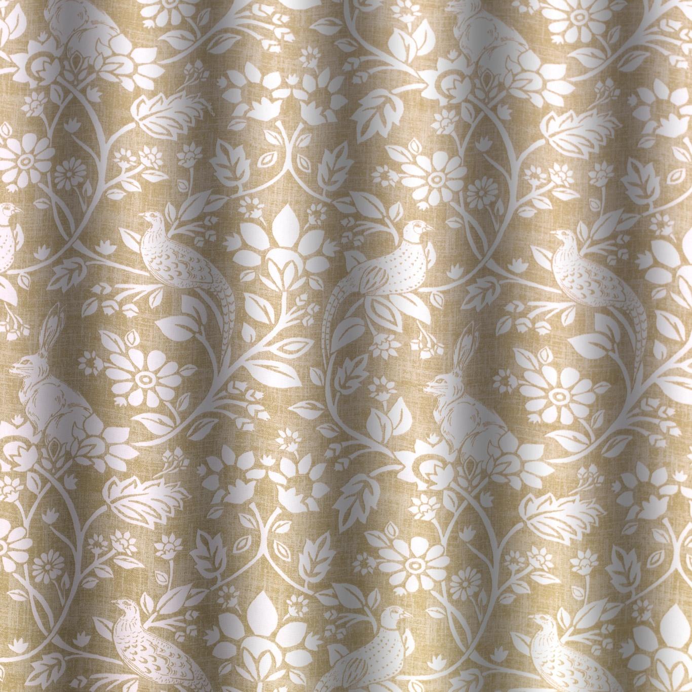 Swatch Box Heathland Moss Curtain Fabric