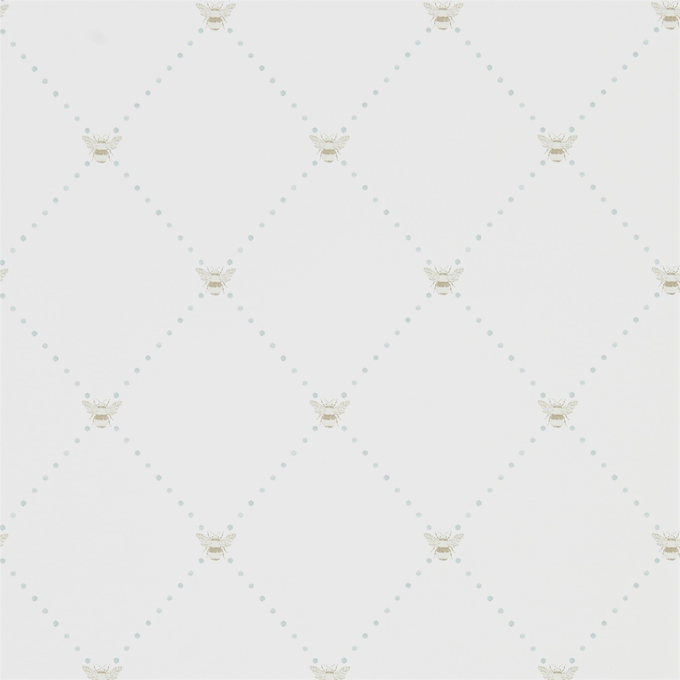 Image of Sanderson Home Nectar Mineral/Dove Wallpaper 216354