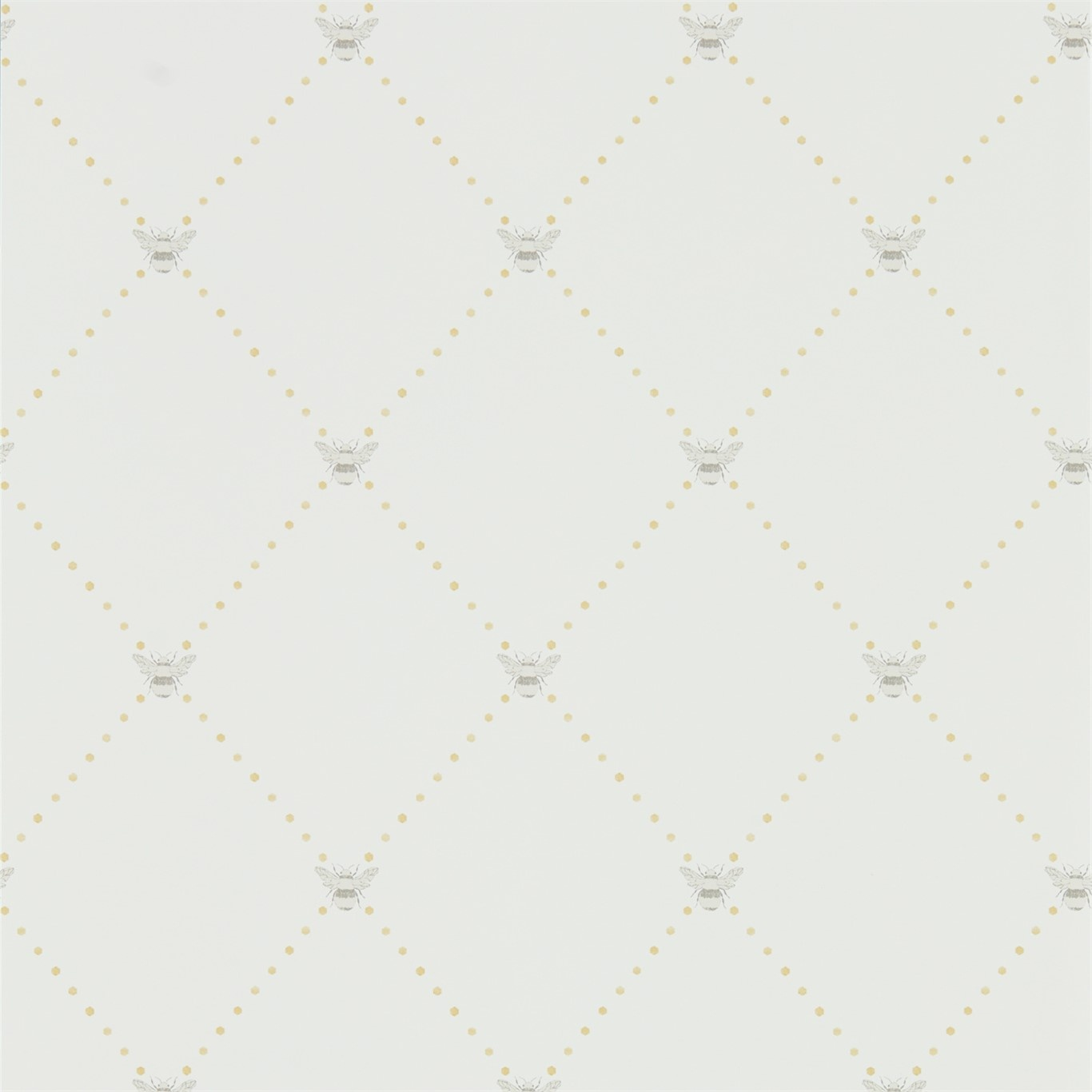 Image of Sanderson Home Nectar Dijon/Mole Wallpaper 216356