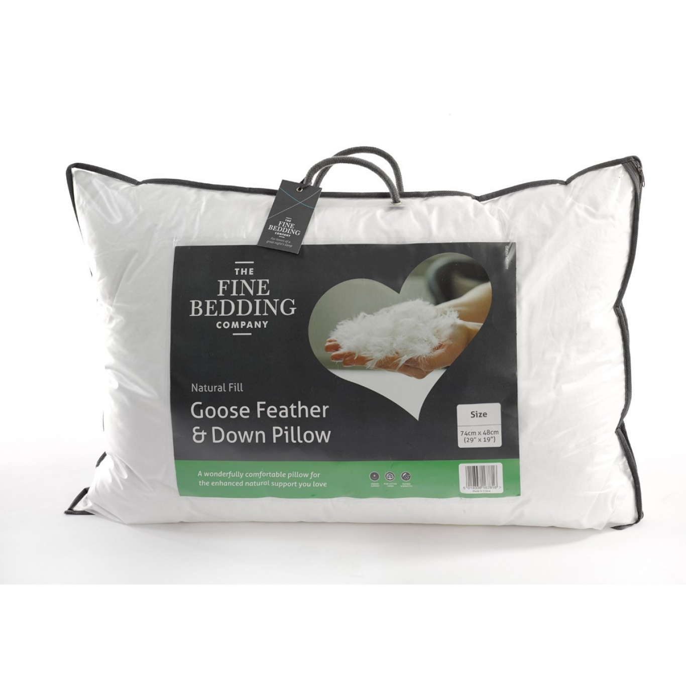 Image of Goose Feather & Down Pillow