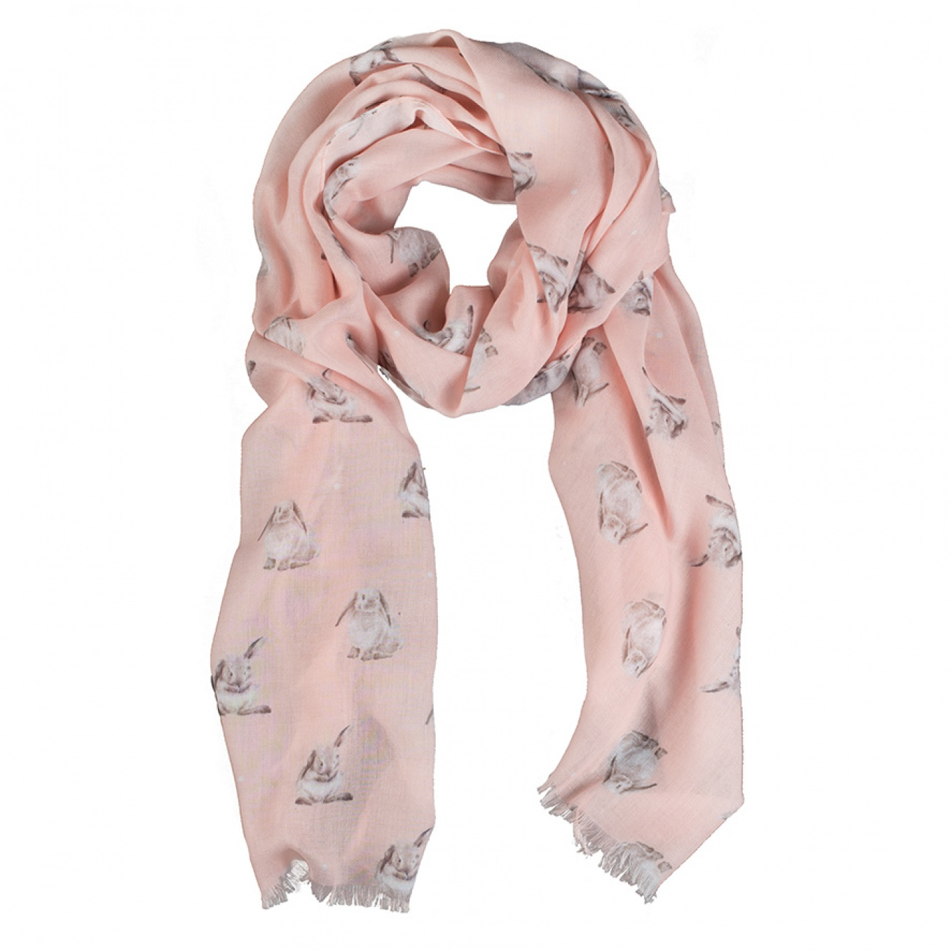 Image of Wrendale Designs Some Bunny Scarf