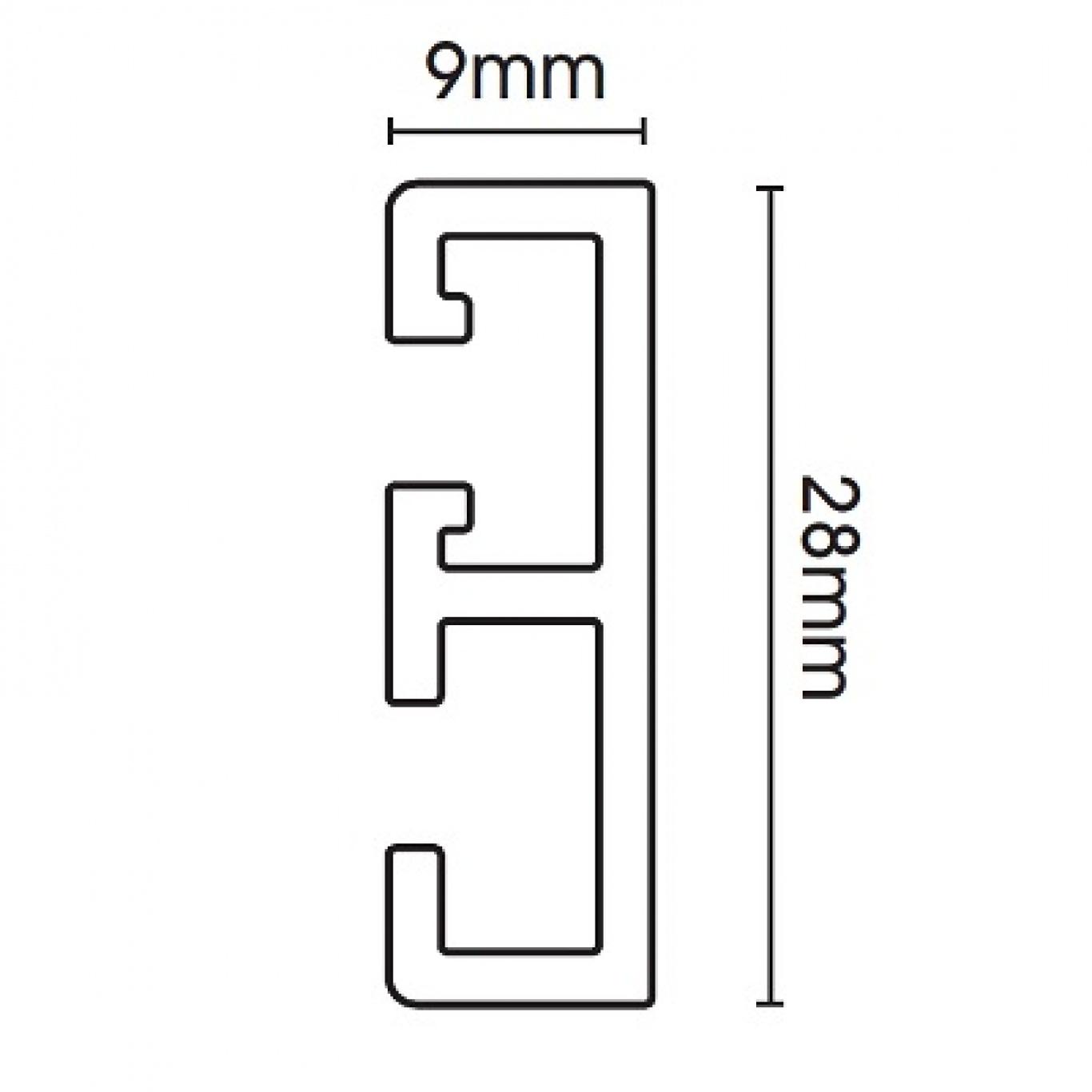 Swish Supreme Glide Track 350cm