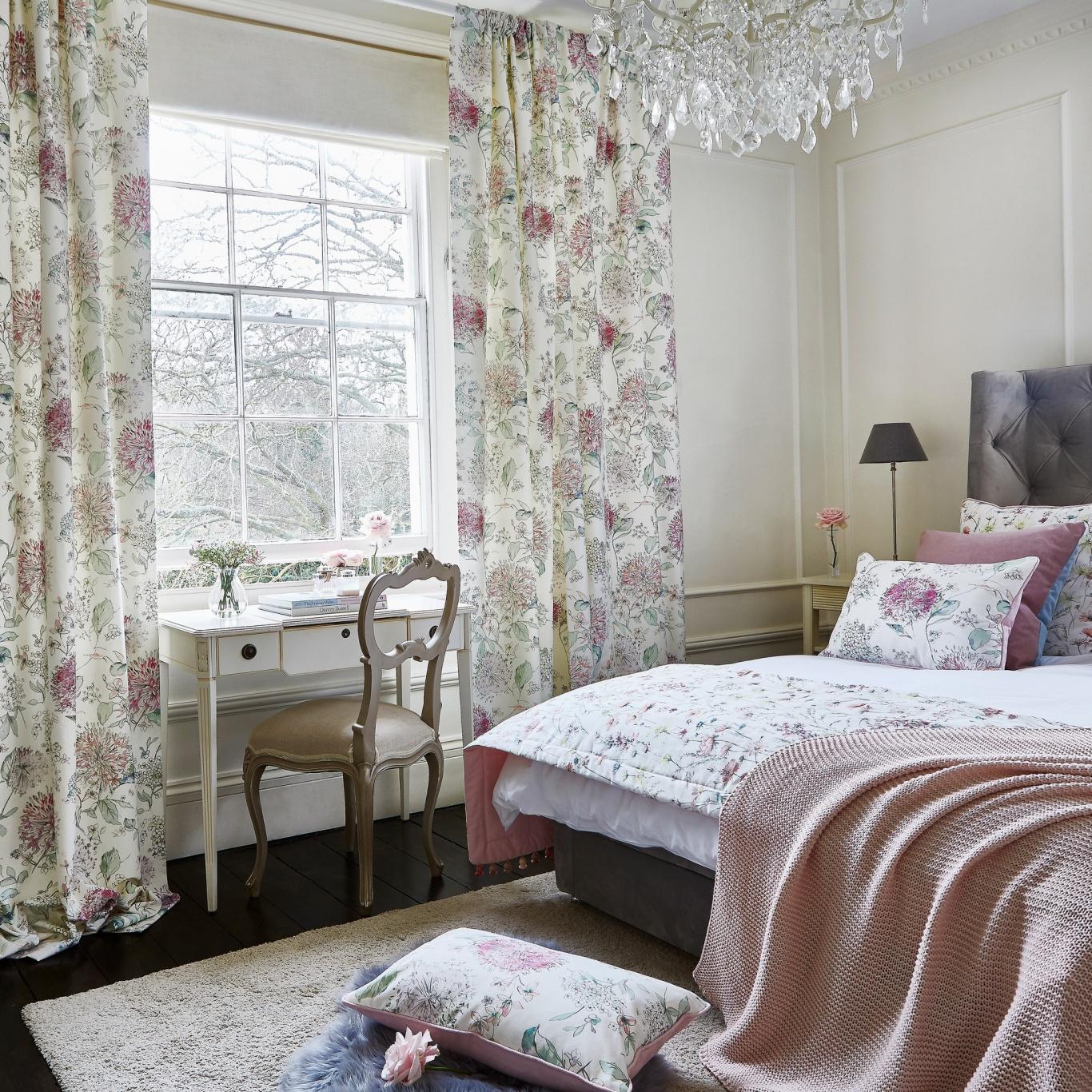 Prestigious Lila Blossom Fabric 8671/211