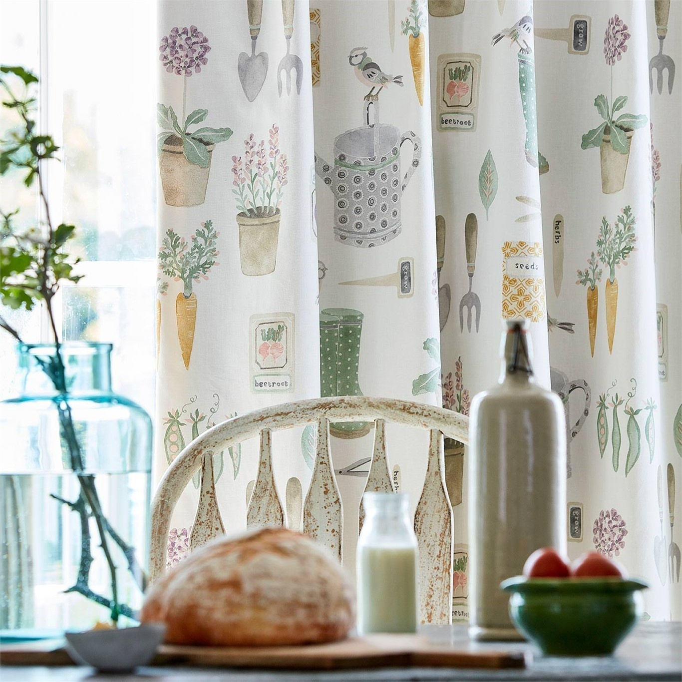 Sanderson Home The Gardener Fennel Fabric 226348