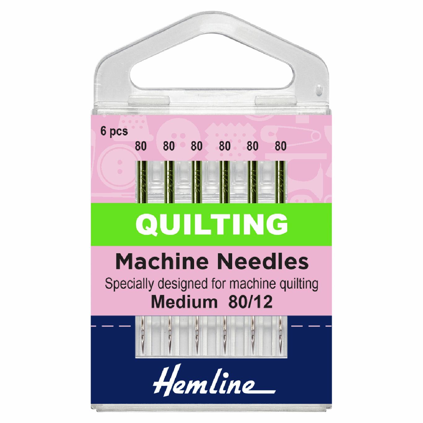 Image of Quilting Sewing Machine Needles | Medium 80/12 | 5 Pieces
