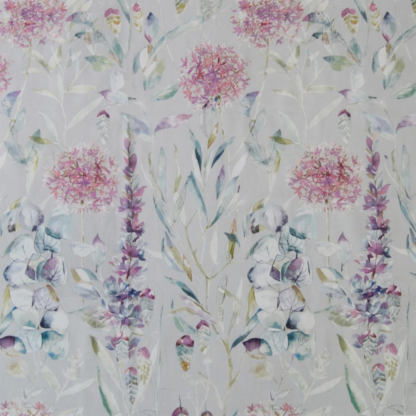 Image of Voyage Carneum Sorbet Curtain Fabric