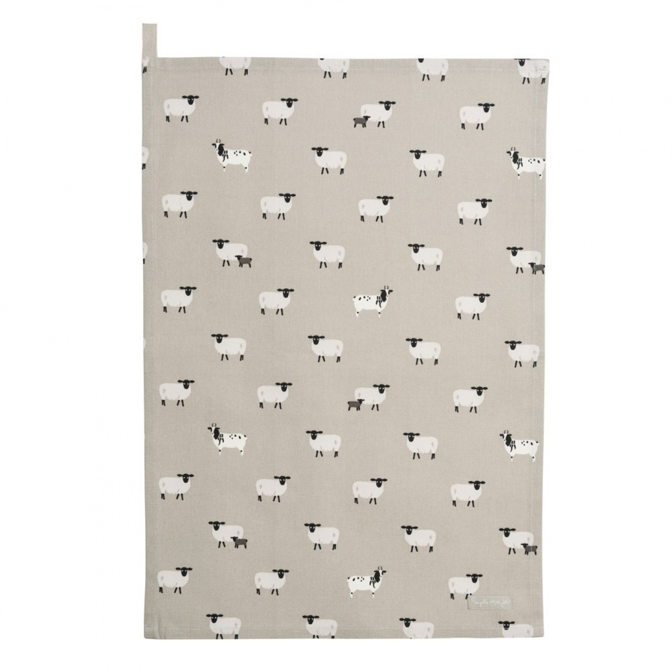 Image of Sophie Allport Sheep Tea Towel