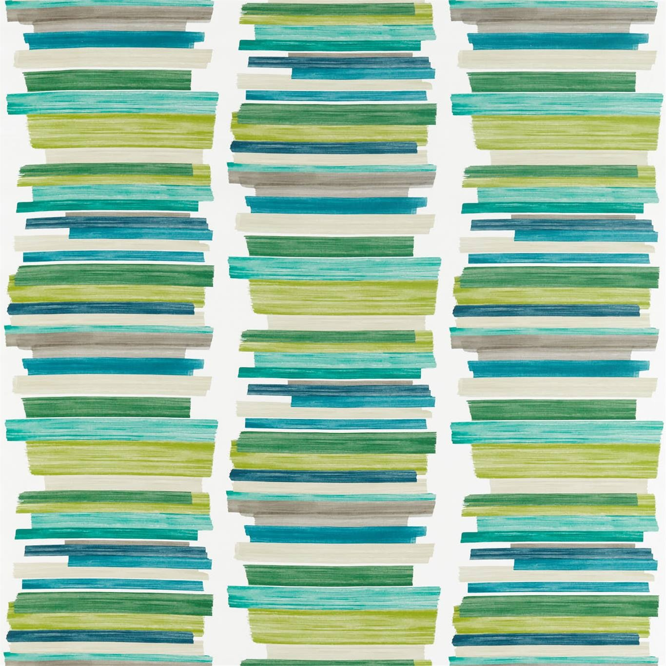 Image of Harlequin Calcine Emerald / Zest / Marine Curtain Fabric 120805