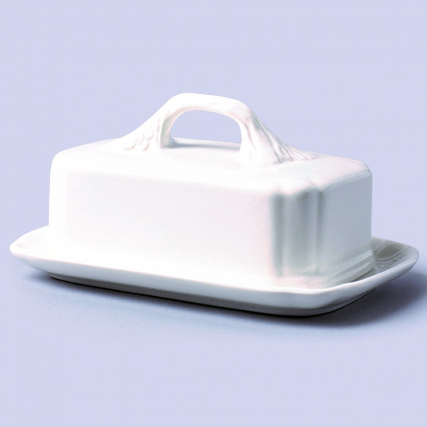 Image of Butter Plate with Lid