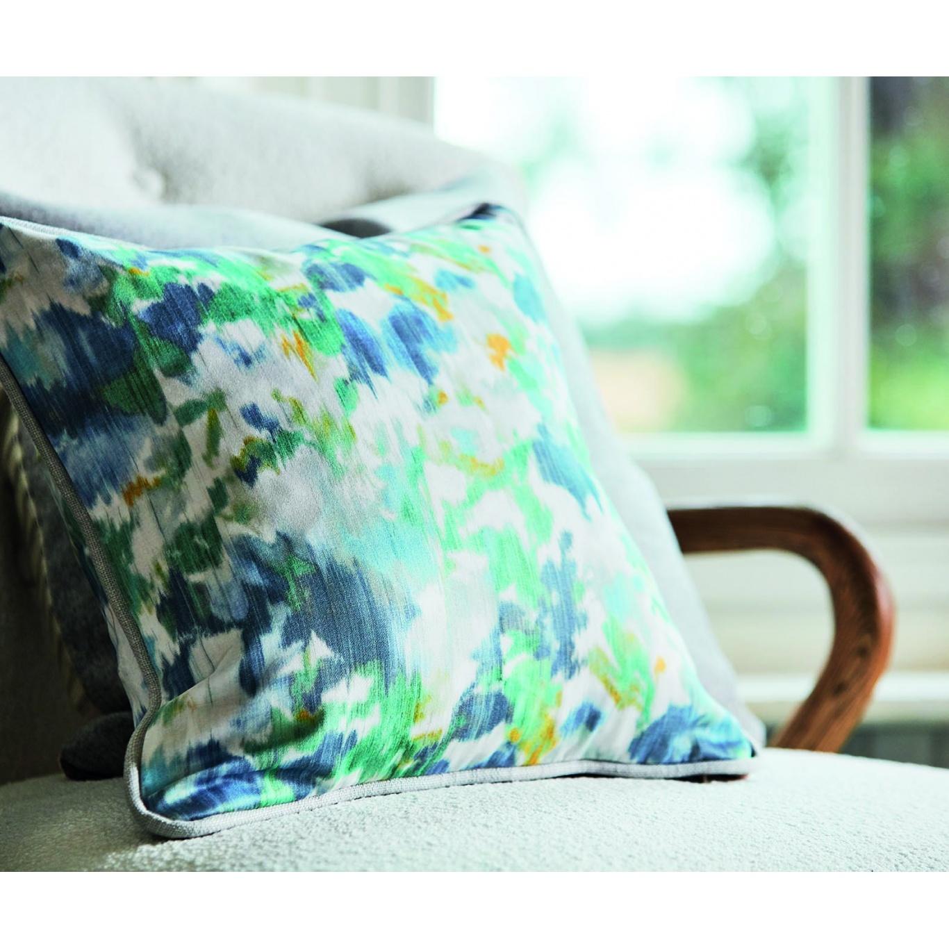 Sanderson Poet's Garden Teal/Indigo Fabric 226756