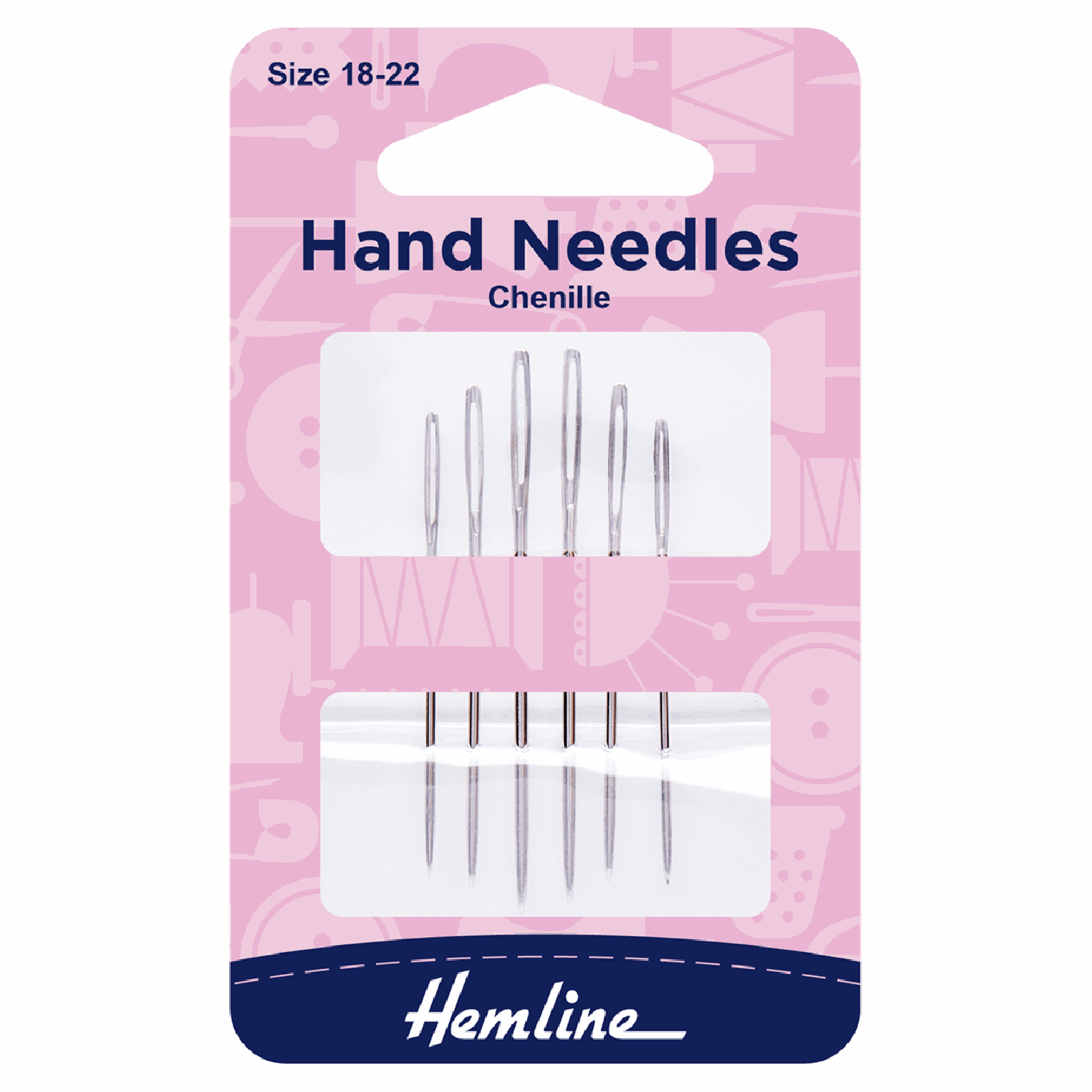 Image of Chenille Hand Sewing Needles   Size 18-22