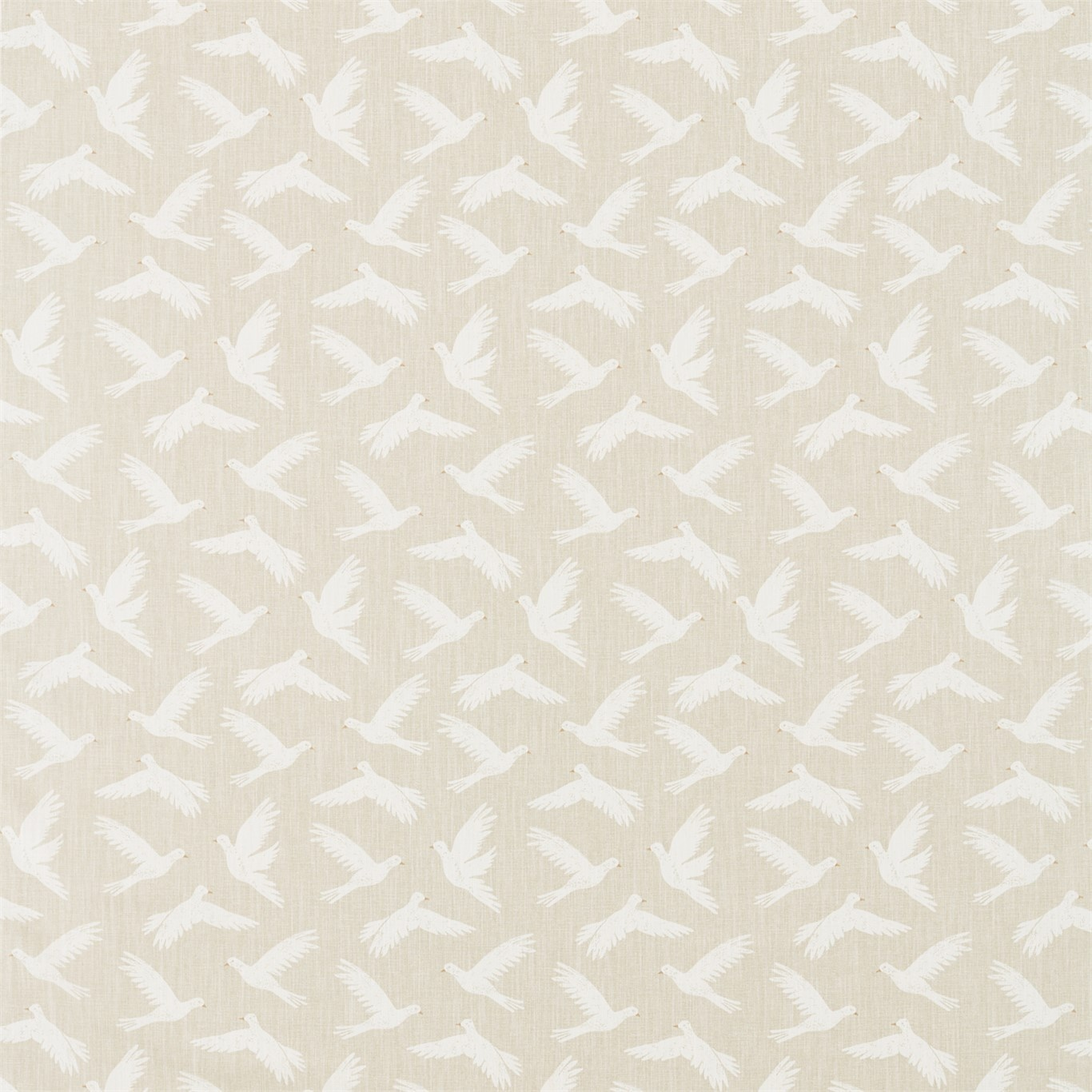 Image of Sanderson Home Paper Doves Linen Fabric 226350