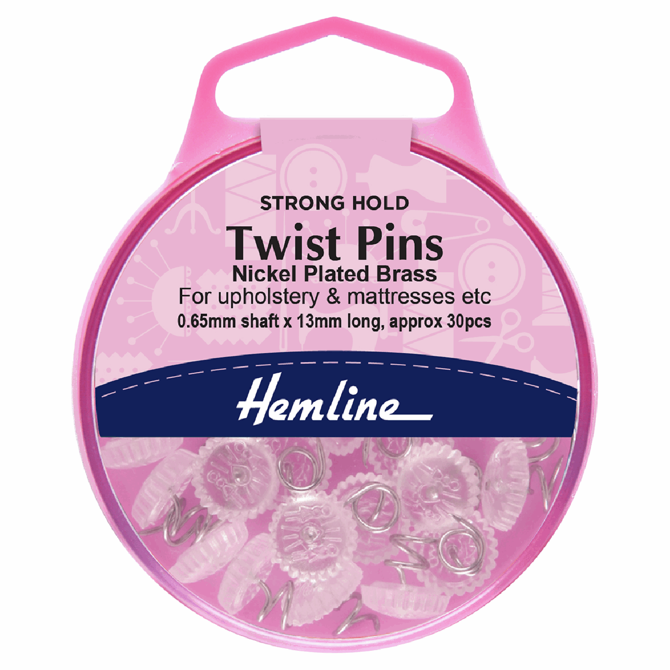 Image of Twist Pins | 13mm | 30 Pieces