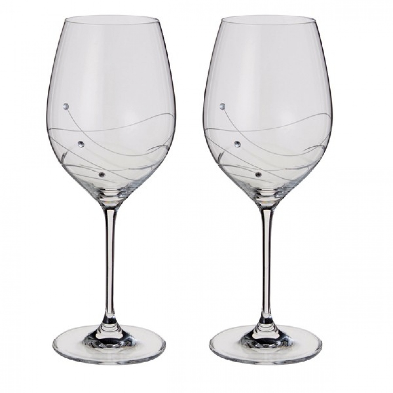 Image of Dartington Glitz Goblet Wine Pair