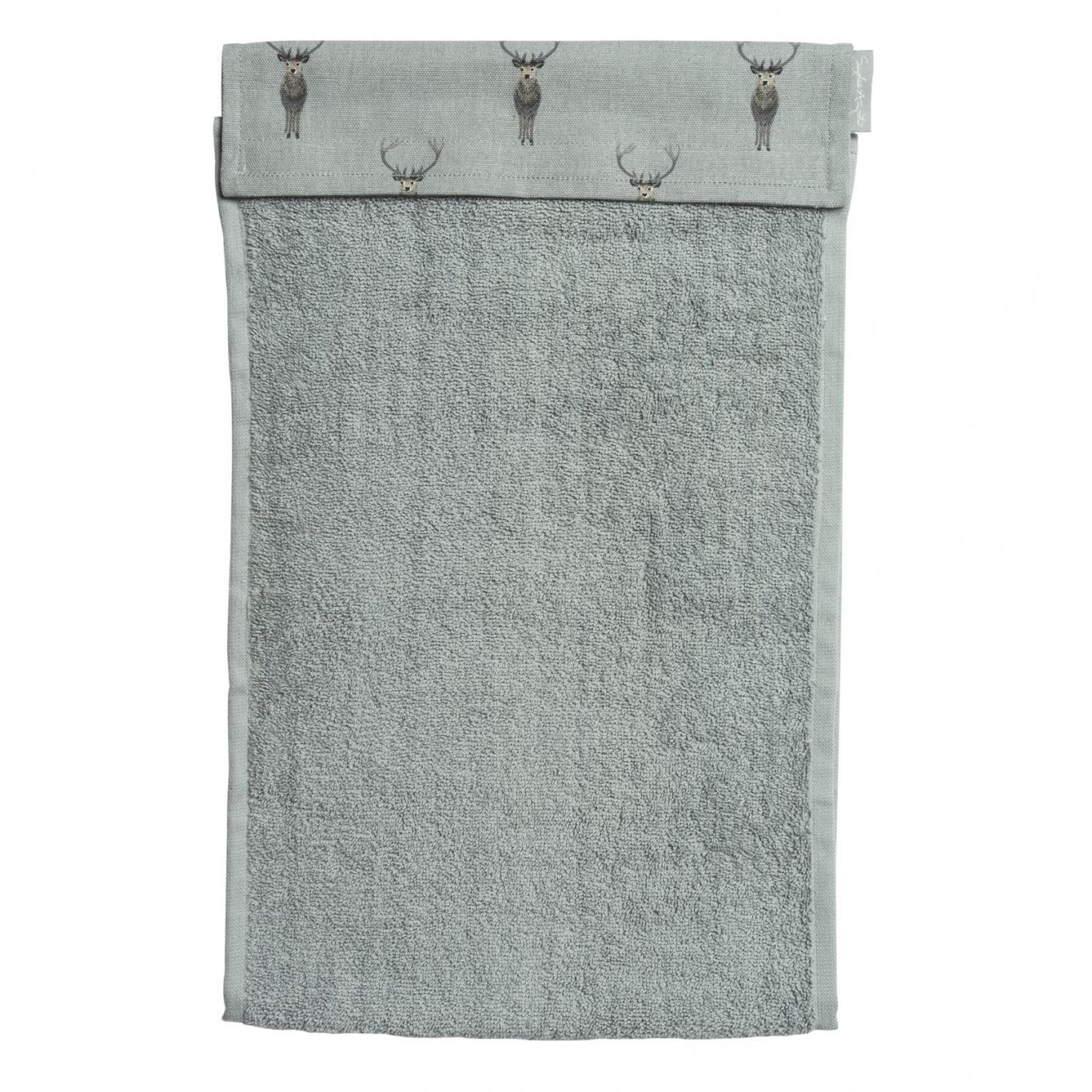 Image of Sophie Allport Highland Stag Roller Hand Towel