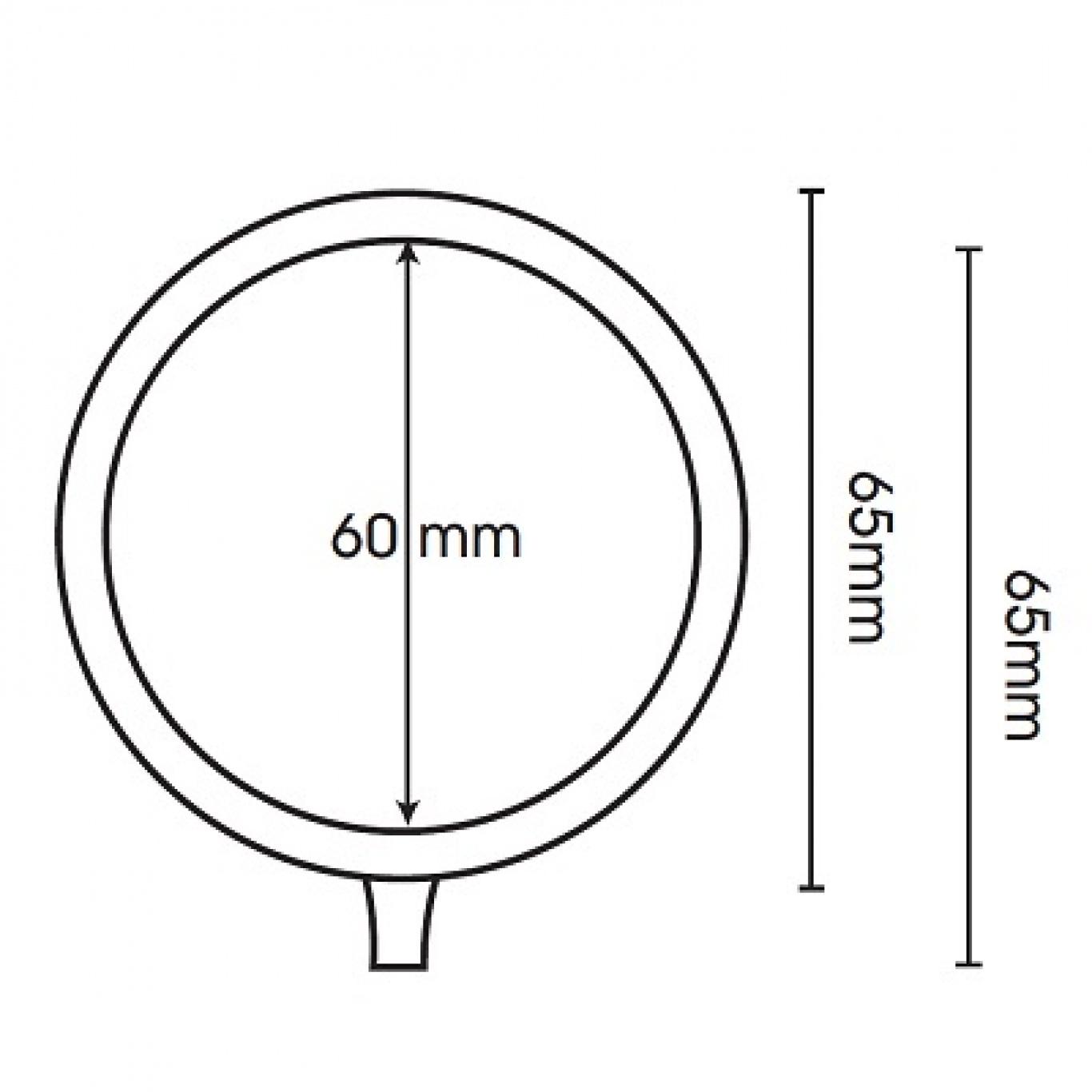 Swish Belgravia 35mm Satin Steel Metal Pole