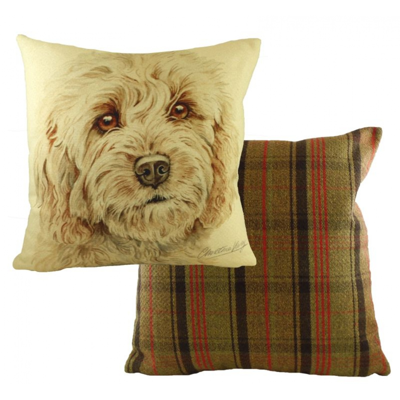 Image of Waggy Dogz Cockapoo Cushion Cover