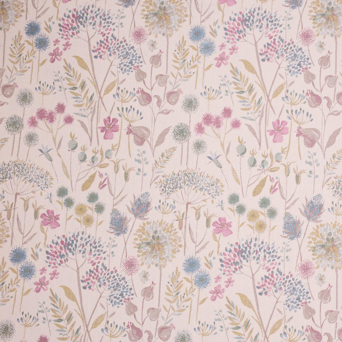 Image of Voyage Flora Cream Spring Curtain Fabric