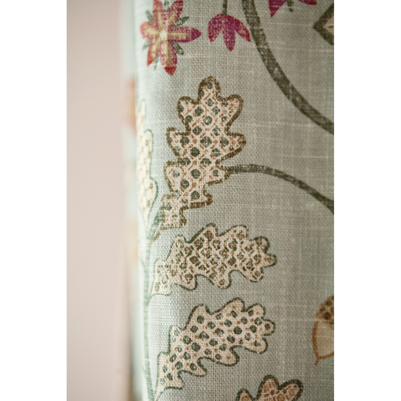 Morris & Co Newill Teal Fabric 226588