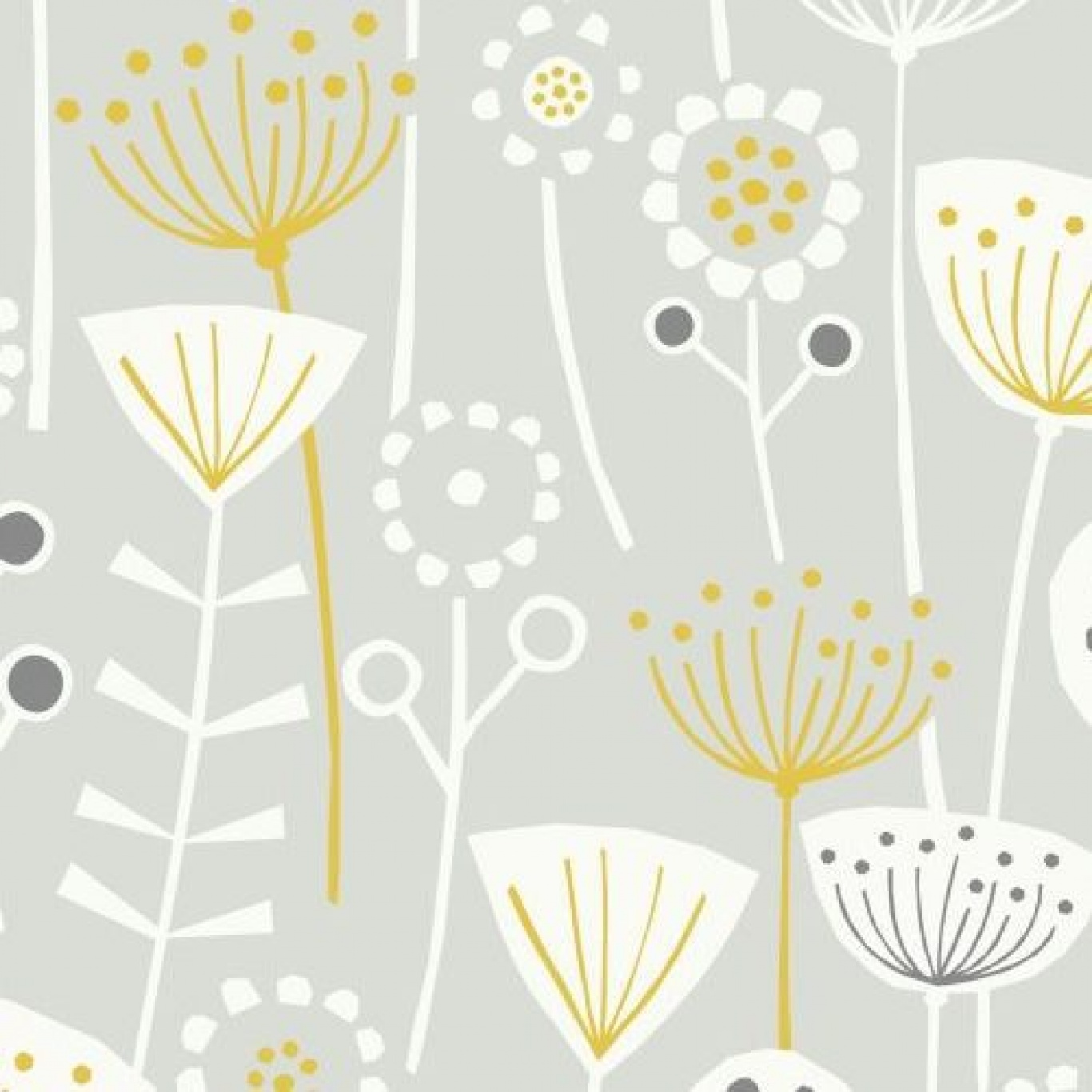 Image of Fryett's Bergen Grey Fabric