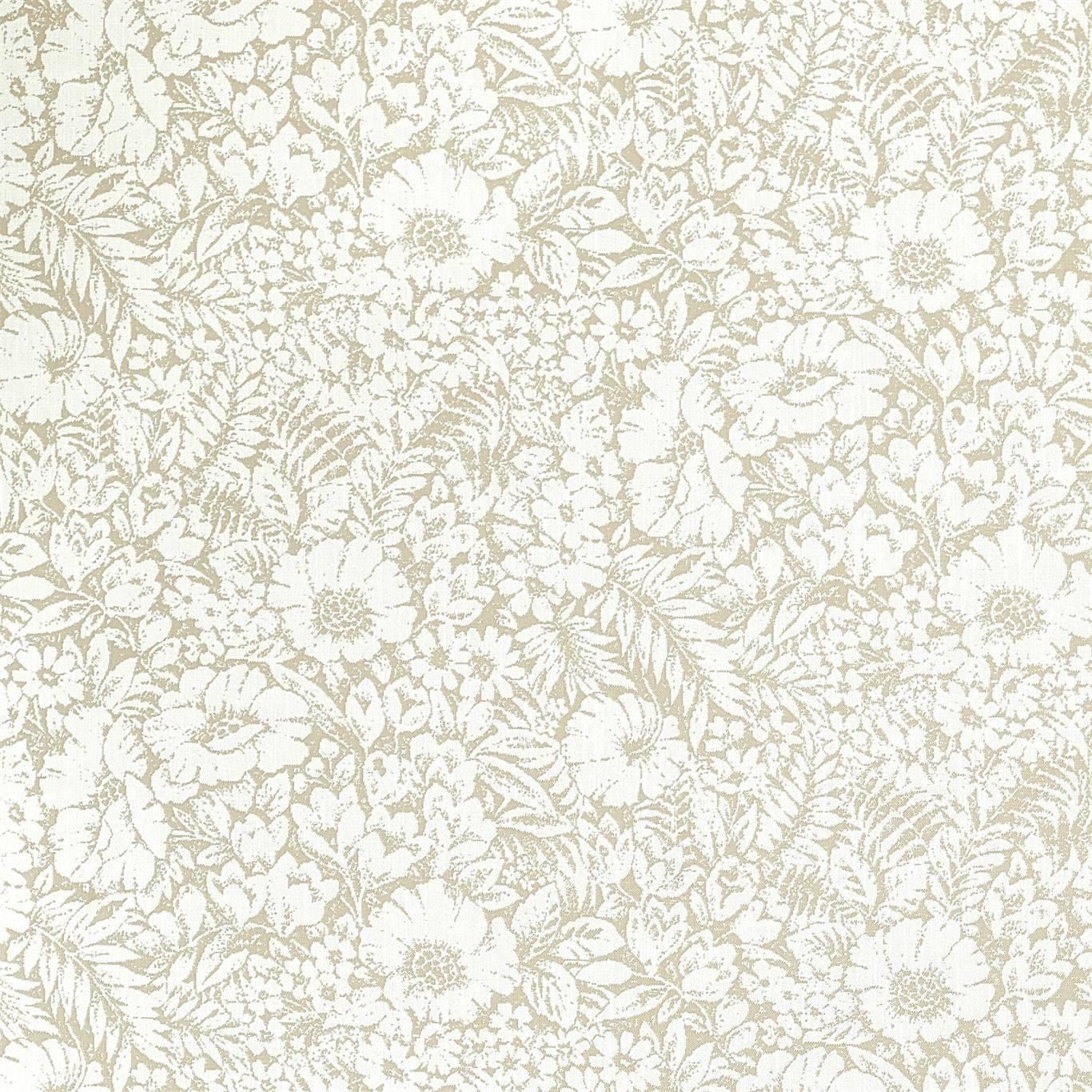 Image of Sanderson Meadow Fields Linen Fabric 237196