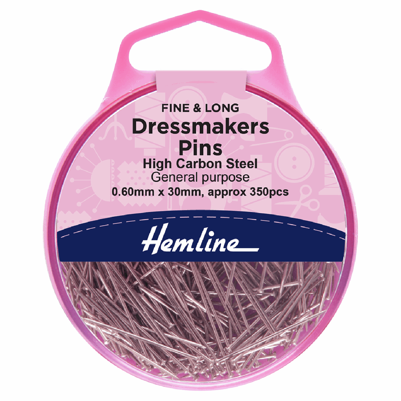 Image of Dressmaker's Pins | 30mm | 330 Pieces