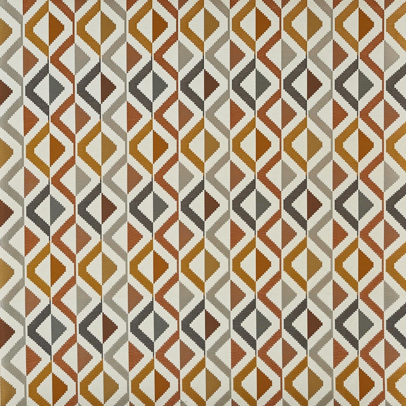 Image of Prestigious Shambala Amber Fabric 3697/502