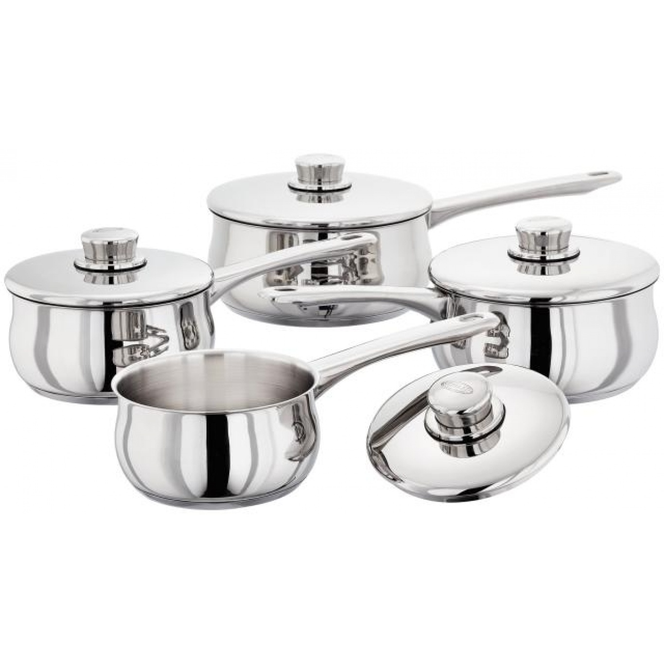 Stellar 1000 3 Piece Saucepan Set with Free 14cm Saucepan