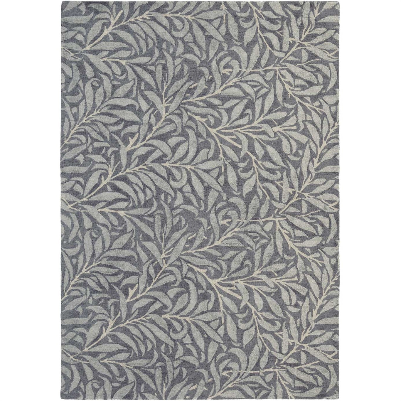 Image of Morris & Co Willow Bough Charcoal Rug 28305