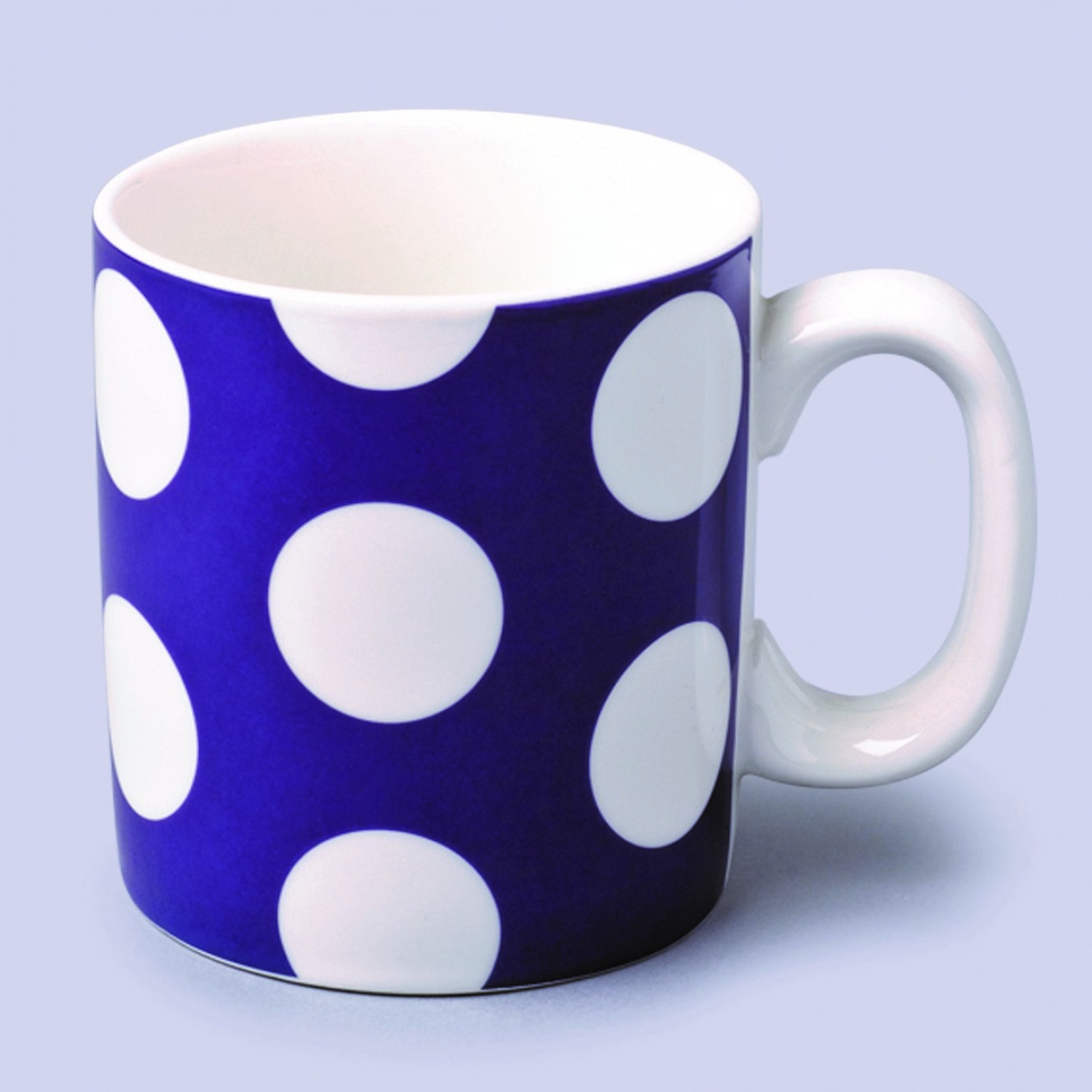 Image of Large Mug Purple Spot 0.7 pint