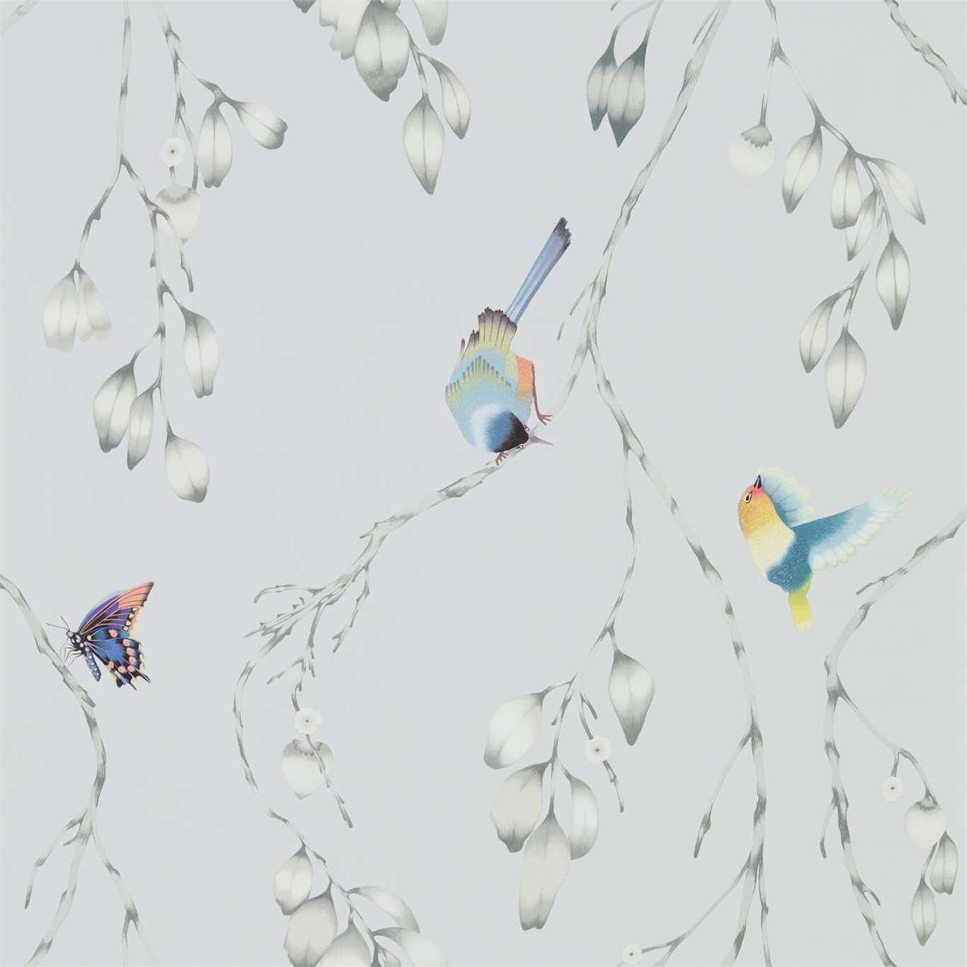 Image of Harlequin Iyanu Mist/Linden Wallpaper 111767