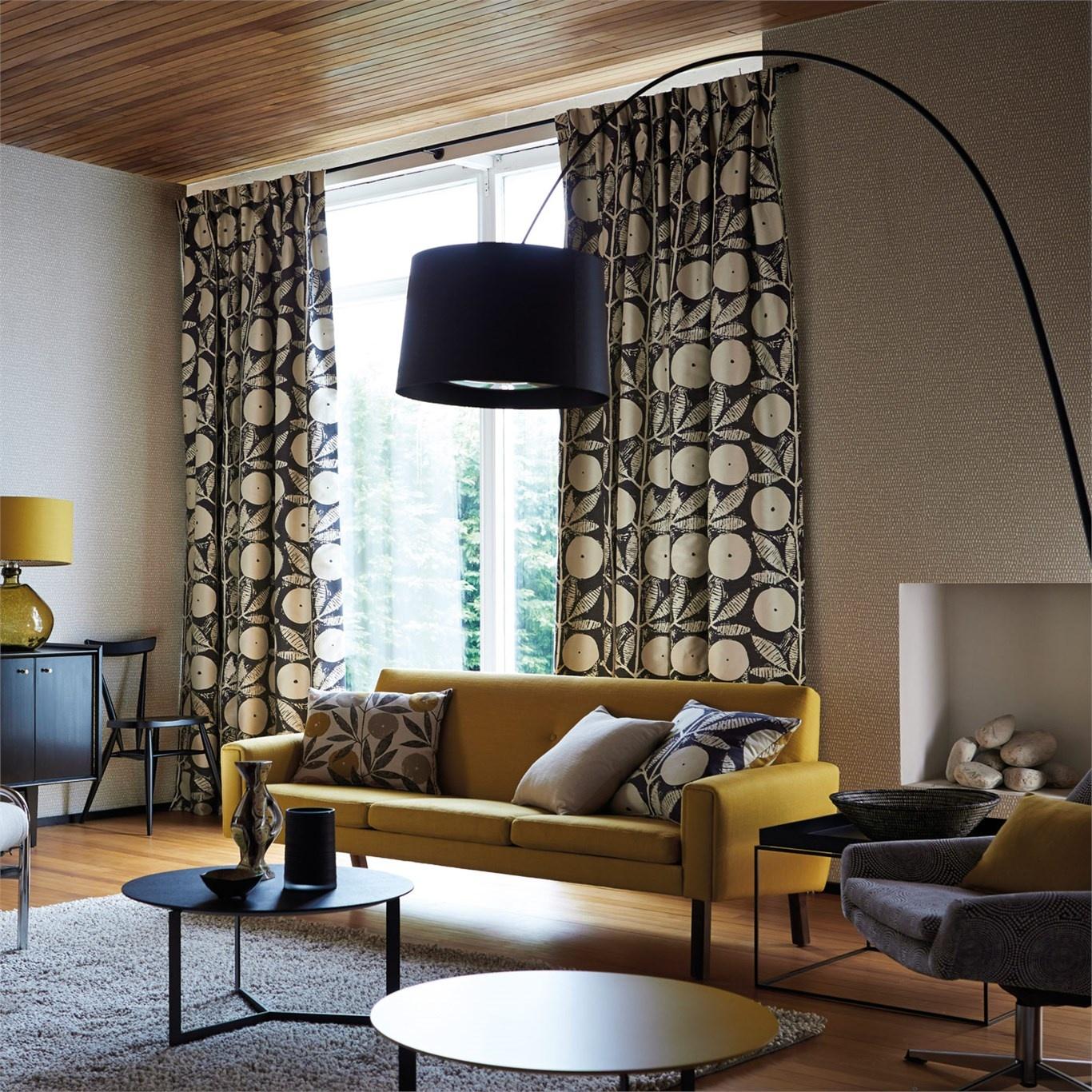 Scion Somero Slate/Pumice Curtain Fabric 131538