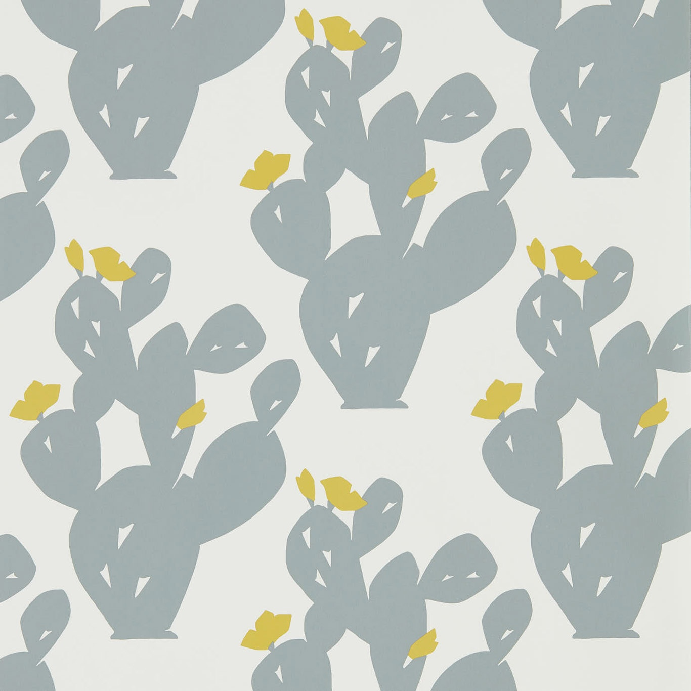 Image of Scion Opunita Slate/Dandelion Wallpaper 111803