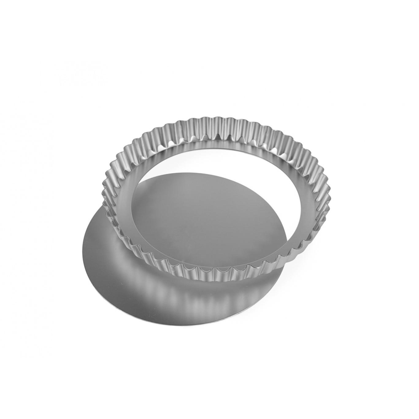 Image of Silverwood Continental Flan Tin Loose Base 7.5ins19cm