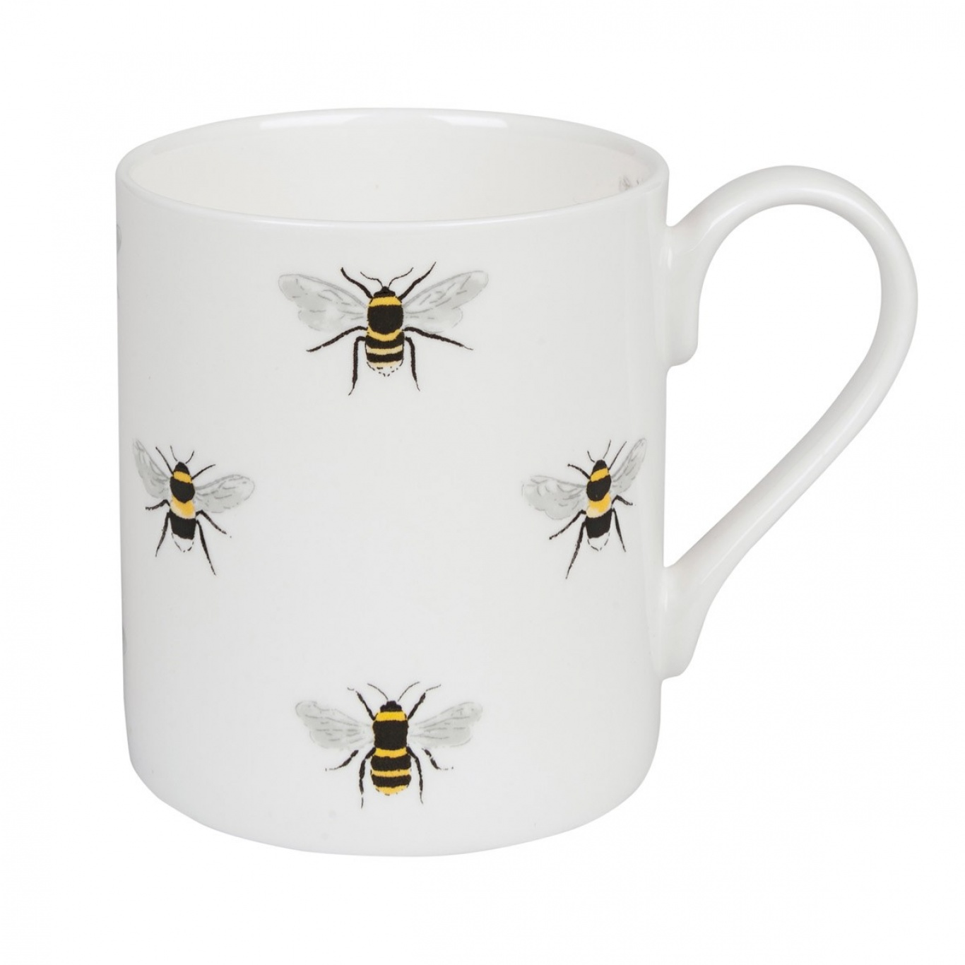 Image of Sophie Allport Bees White Mug Standard