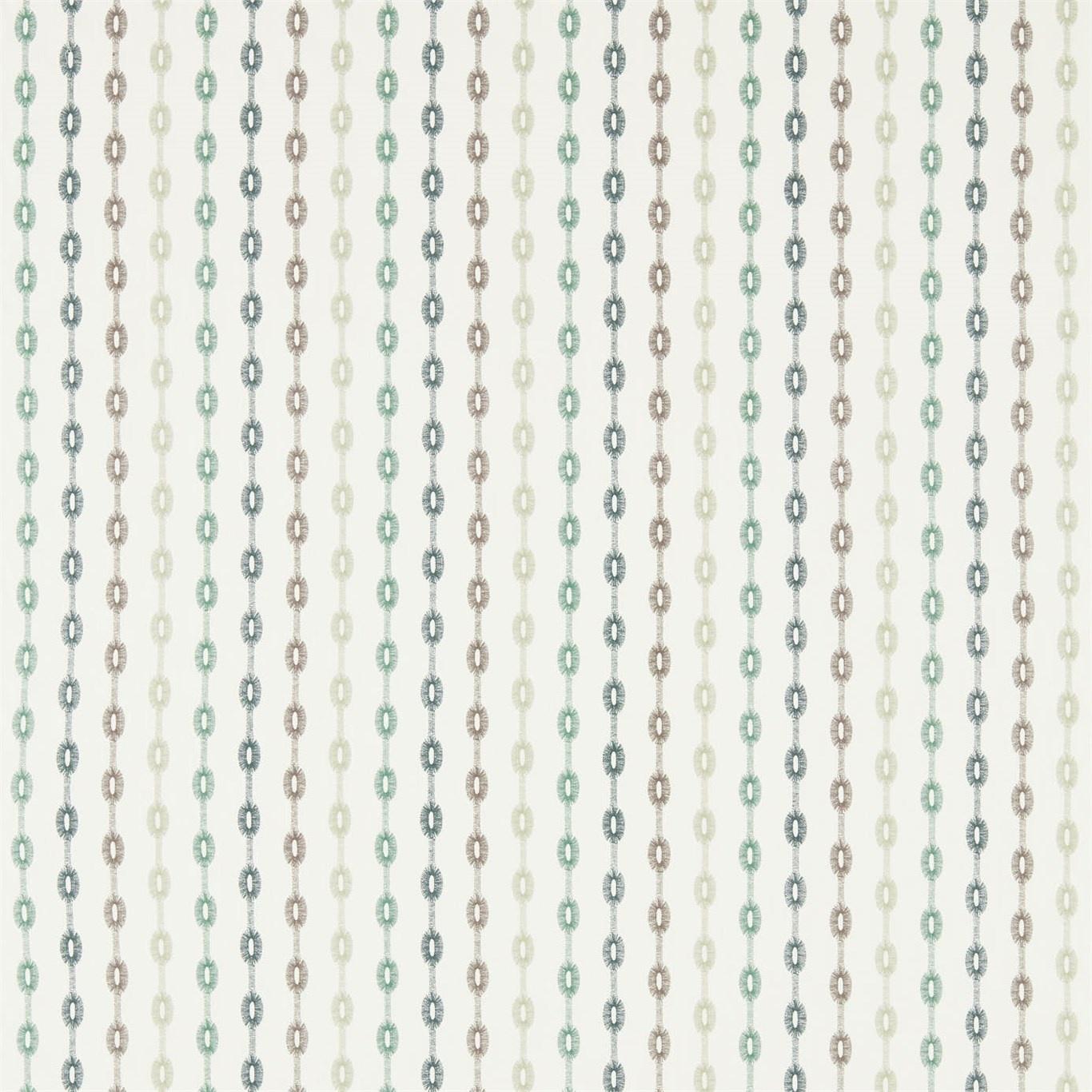 Image of Sanderson Home Shaker Stripe Winter Rocket Curtain Fabric 235893