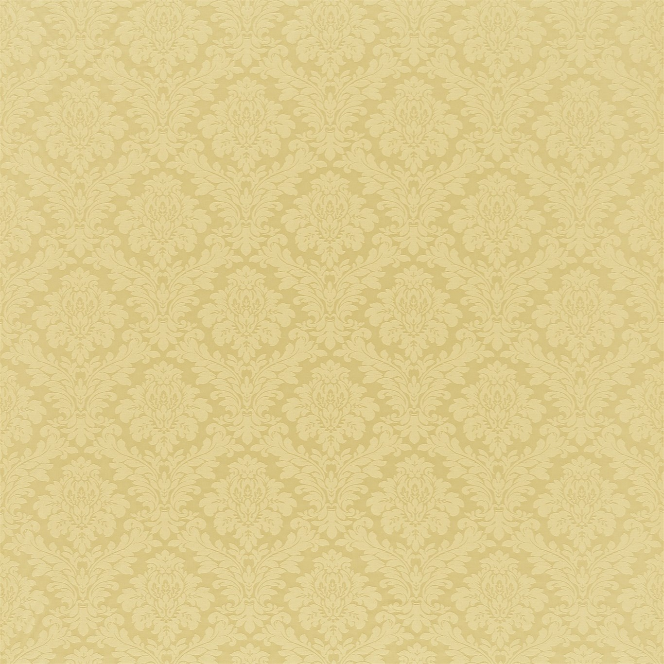 Image of Sanderson Lymington Damask Gold Fabric 232598