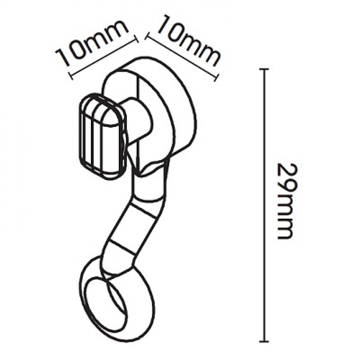 Swish Deluxe White PVC Track 175cm
