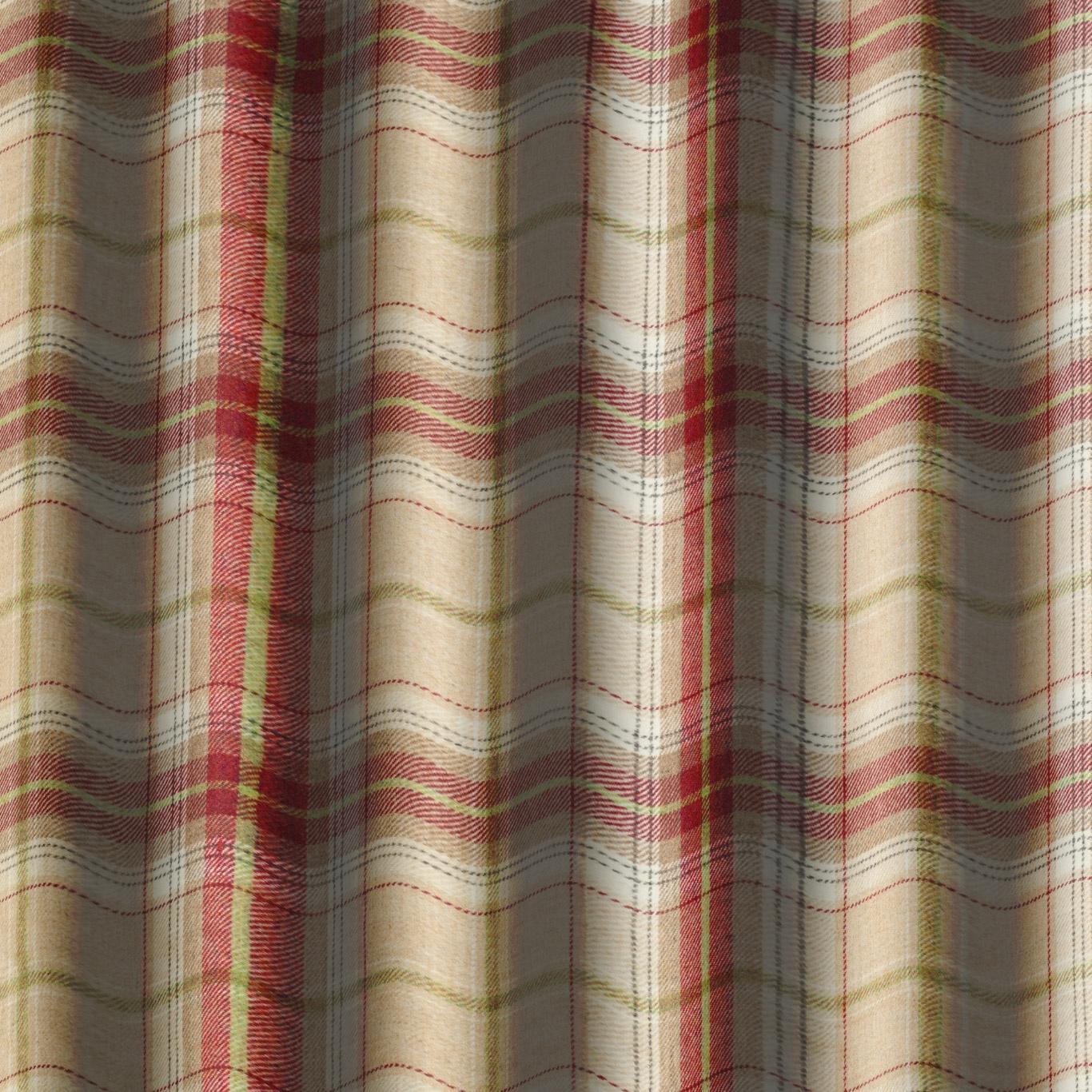 Chess Designs Balmoral Raspberry Fabric
