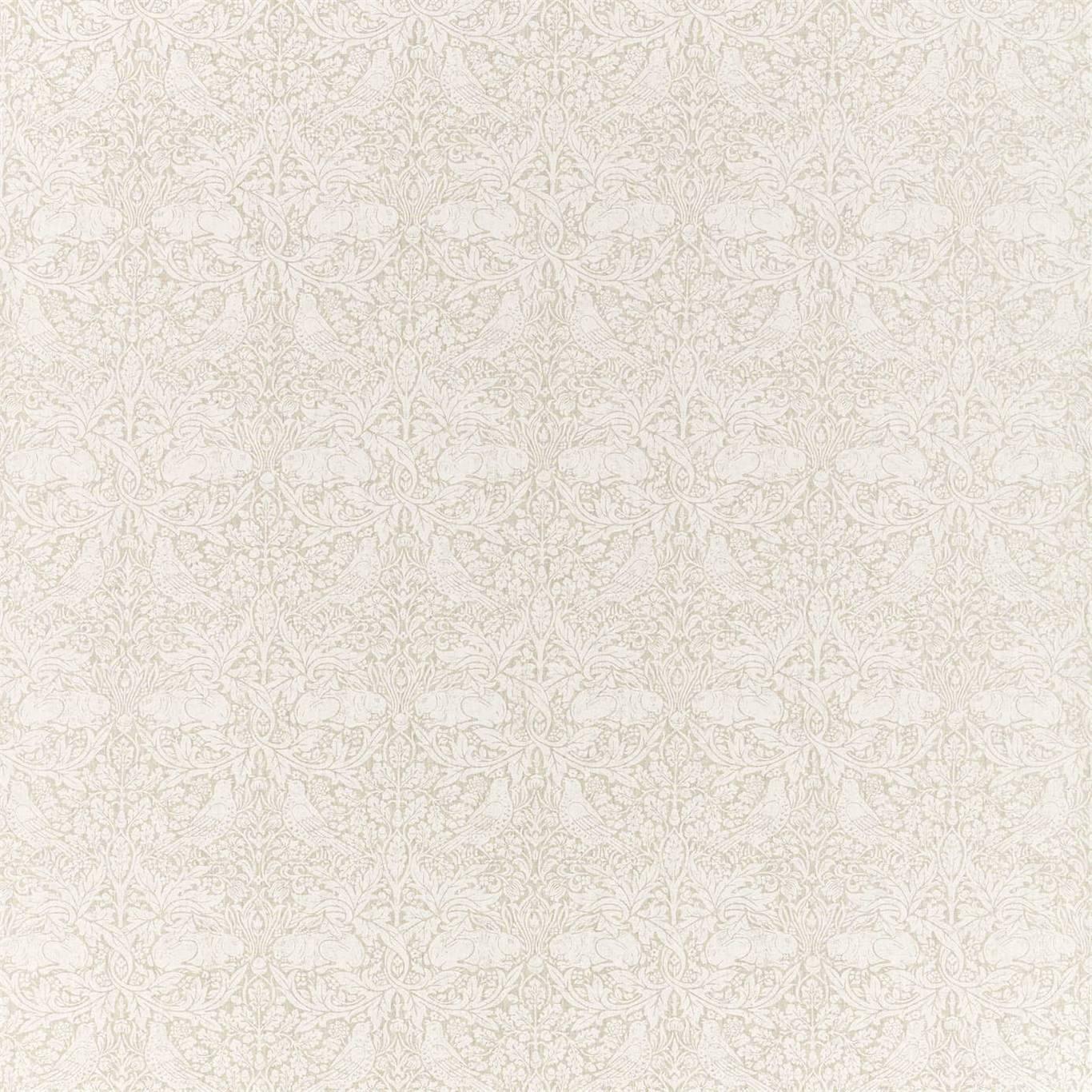 Image of Morris & Co Pure Brer Rabbit Print Linen Fabric 226478