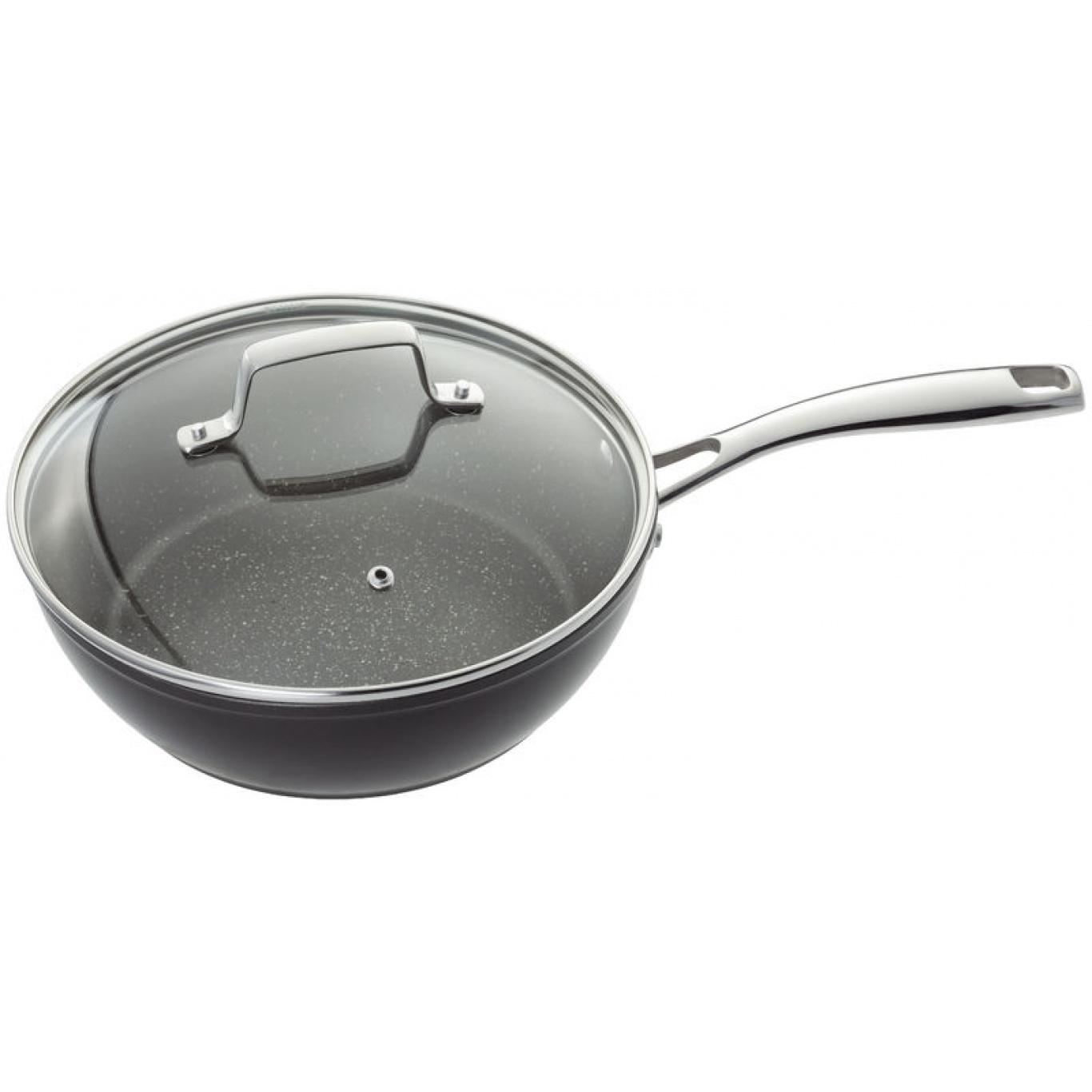 Image of Stellar Rocktanium 24cm Saute Pan
