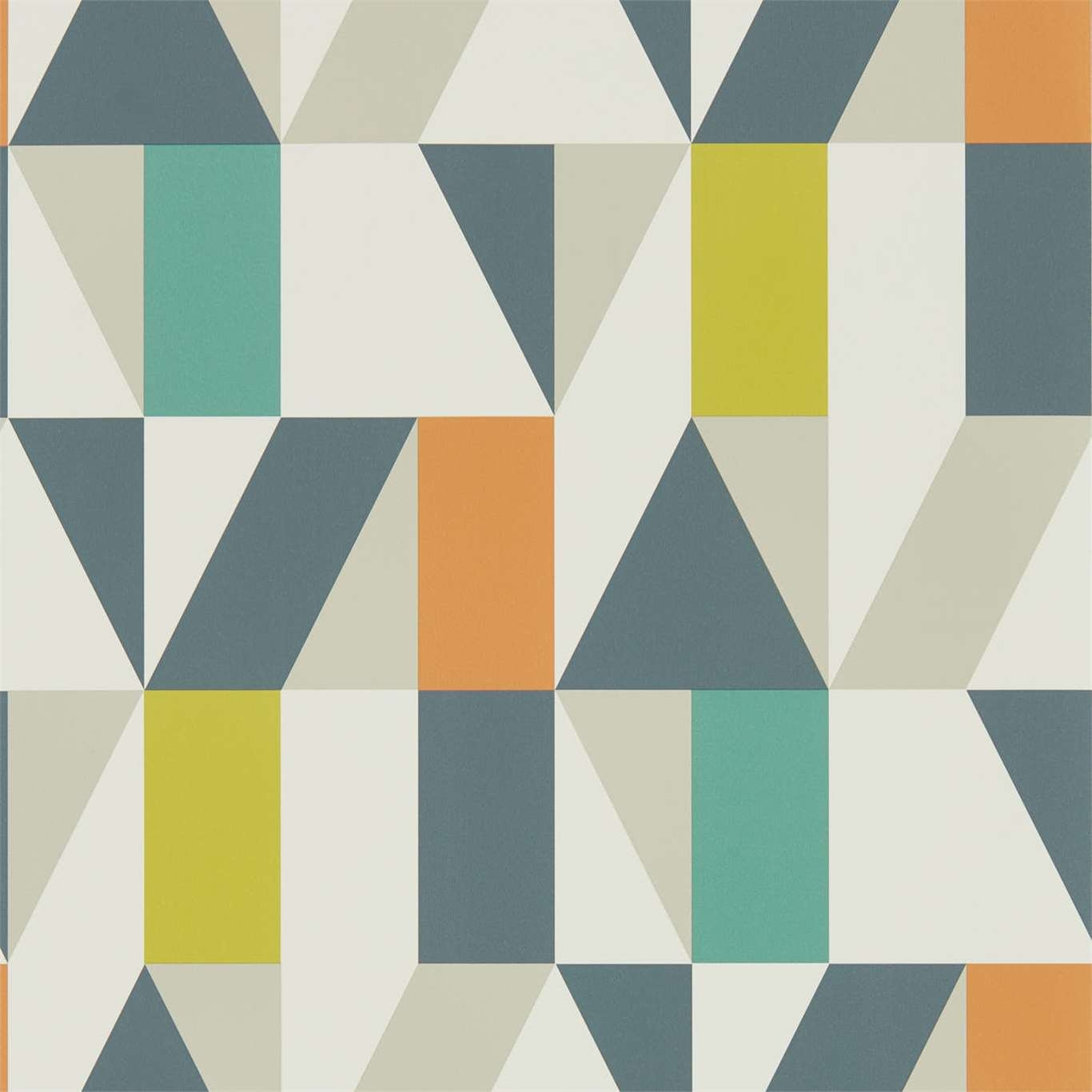 Image of Scion Nuevo Citrus/Paprika/Forest Wallpaper 111829