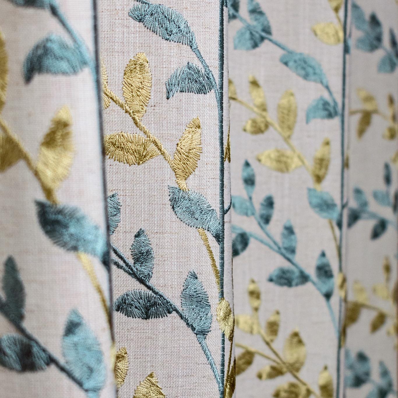 Fibre Naturelle Zoe Sky / Light Curtain Fabric ZOE/01