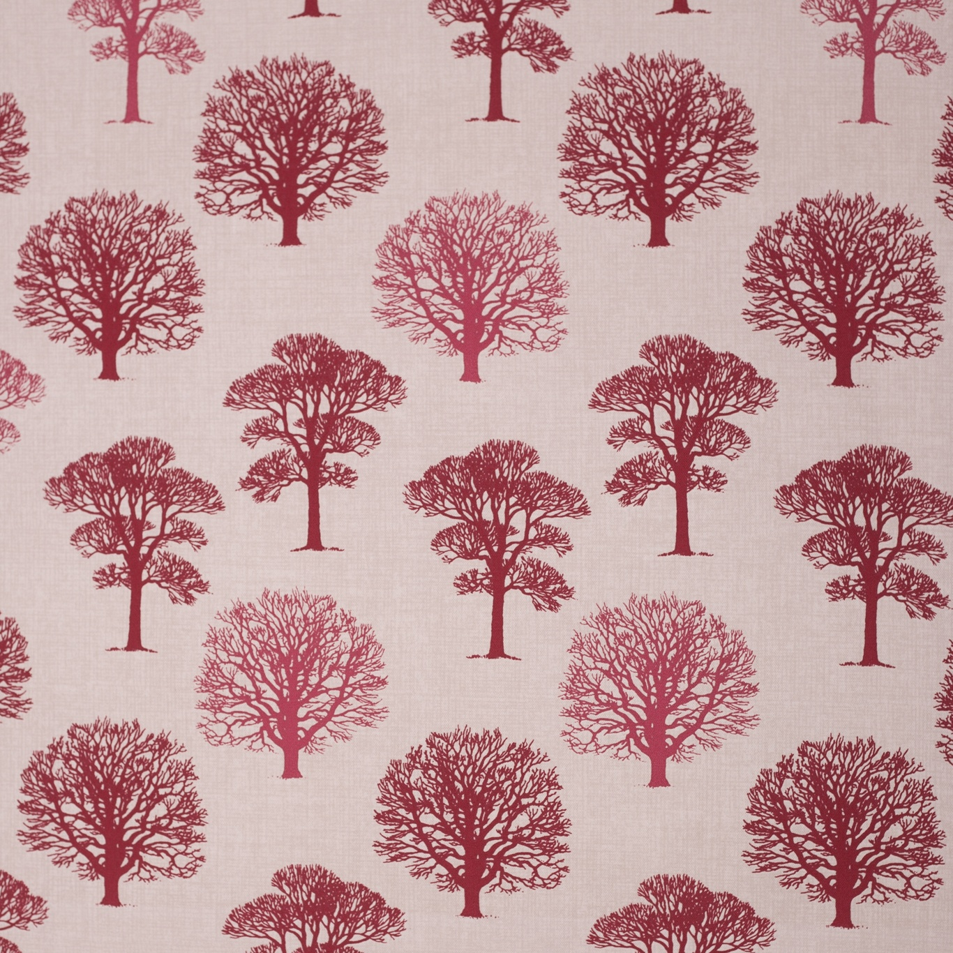 Image of Gordon Smith Oak Red Curtain Fabric