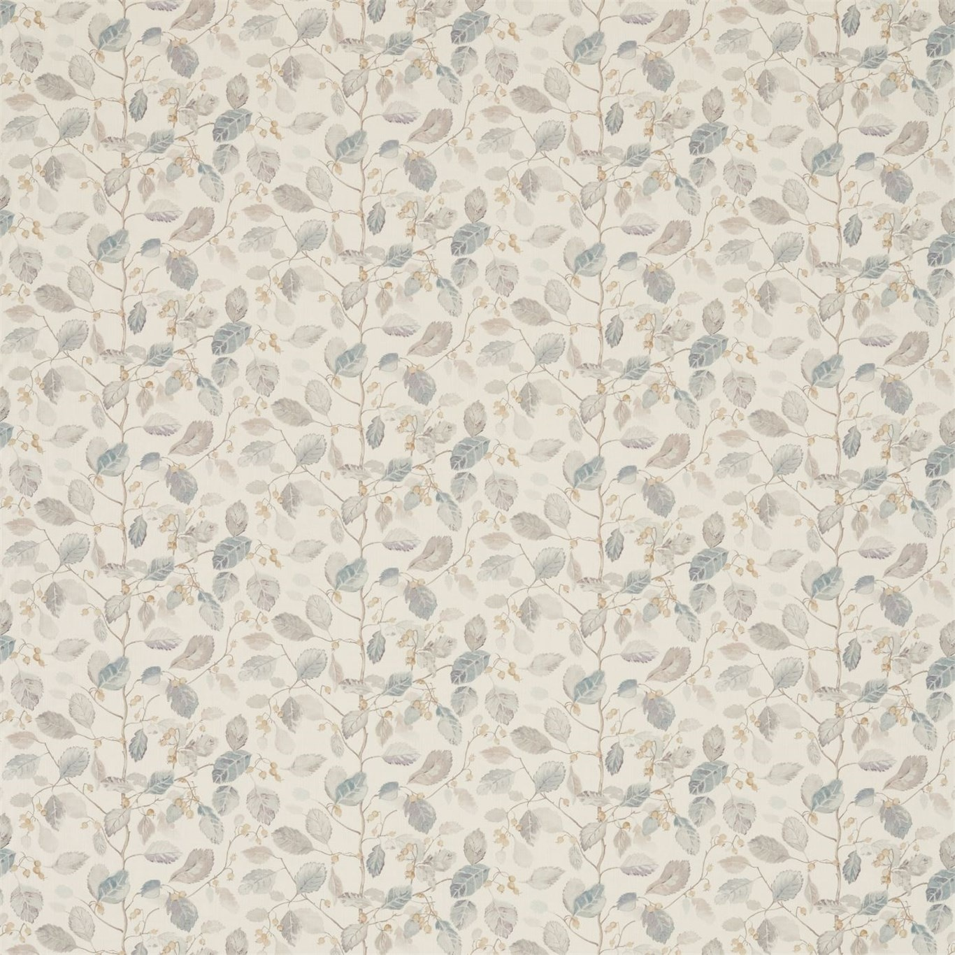 Image of Sanderson Woodland Berries Grey/Silver Fabric 225531