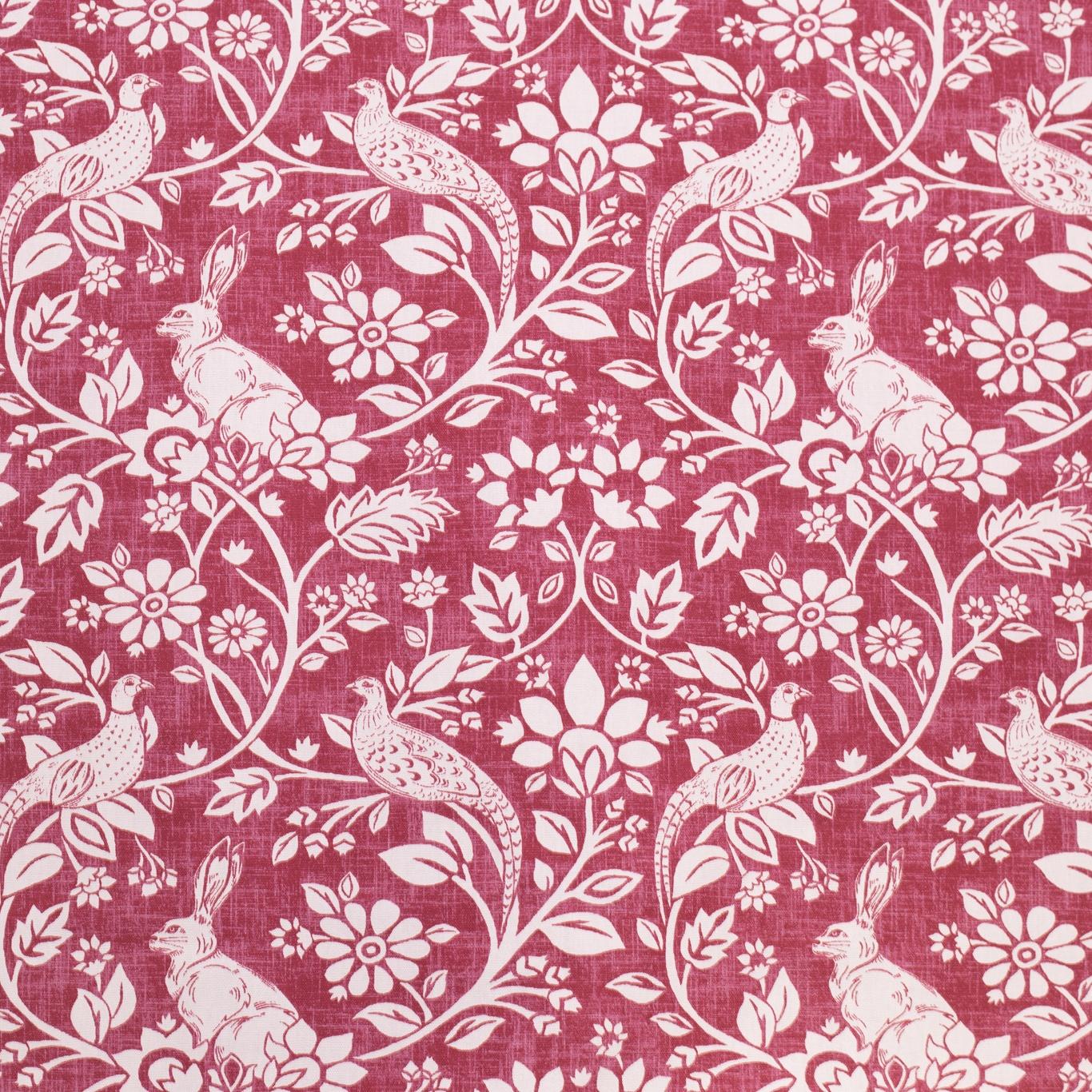Image of Swatch Box Heathland Rouge Curtain Fabric