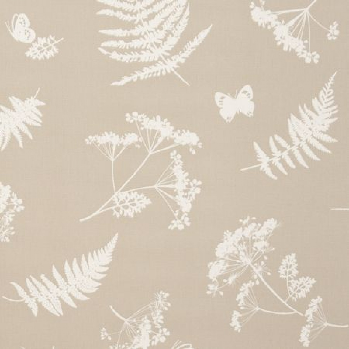 Image of Clarke & Clarke Moorland Taupe Curtain Fabric