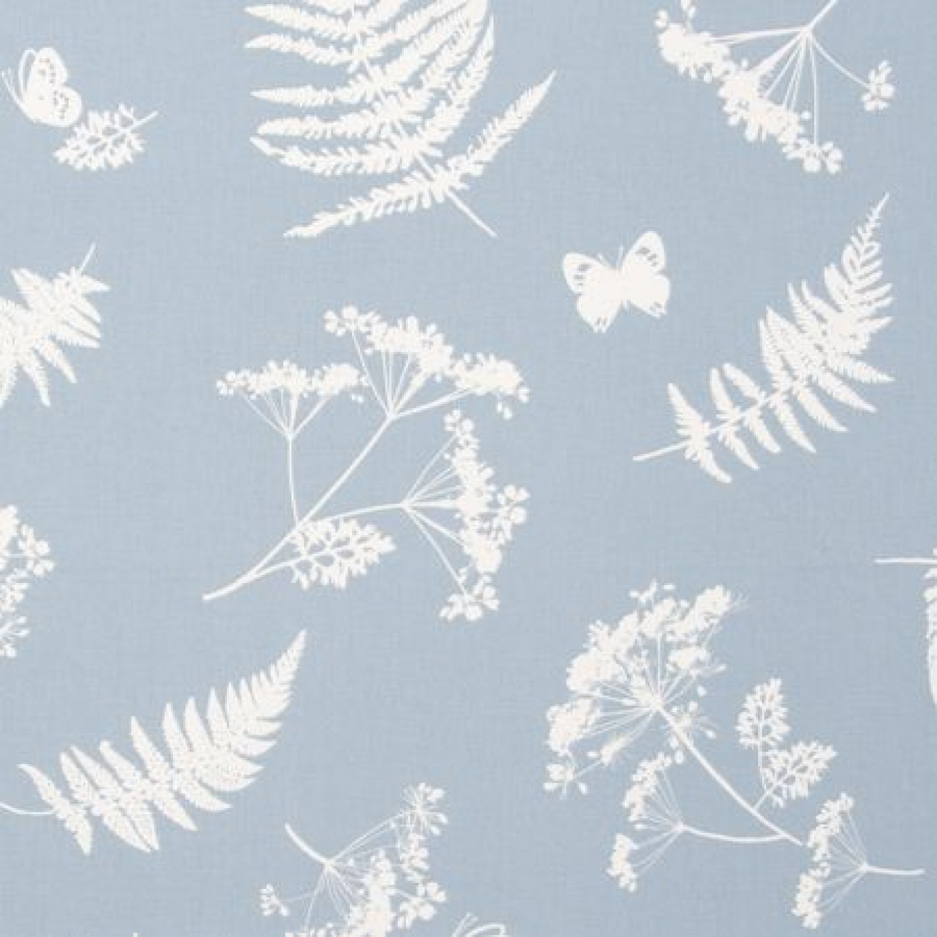 Image of Clarke & Clarke Moorland Denim Curtain Fabric